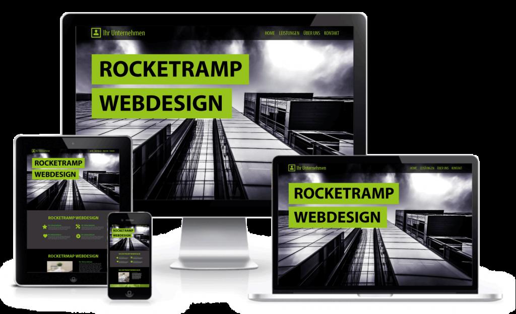 Responsive Webdesign passend für alle Endgeräte